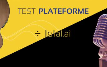 Test Plateforme Lalal.ai