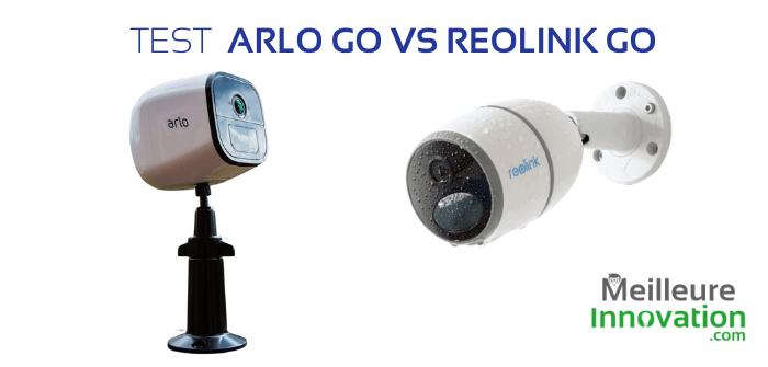 Tests de Caméras de Sécurité 4G : Arlo Go vs Reolink Go