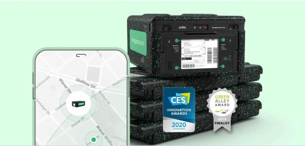 The Box intelligente Livraison e-commerce