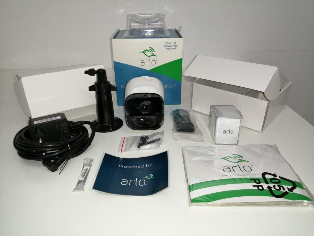 Unboxing caméra de sécurité Arlo