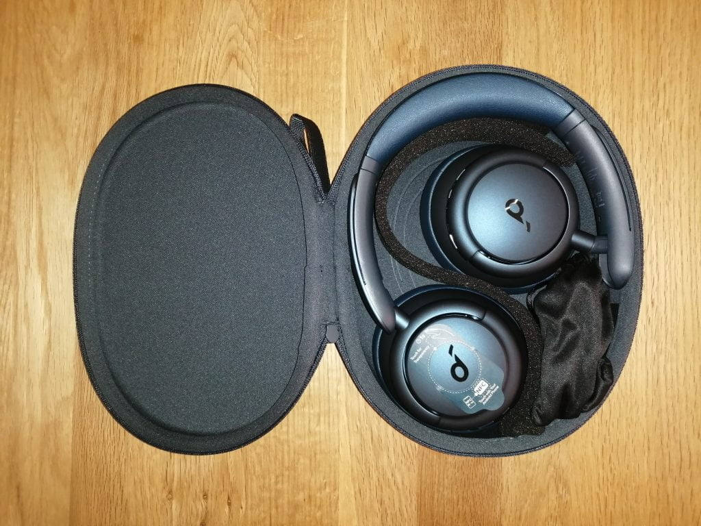 unboxing casque connecté soundcore