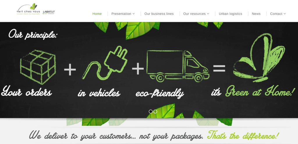 Vert chez vous e-commerce