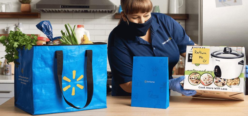 Walmart delivery livraison à domicile