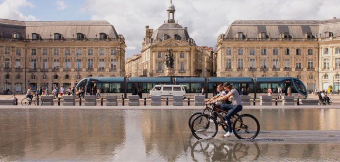 bordeaux ville a mobilité verte
