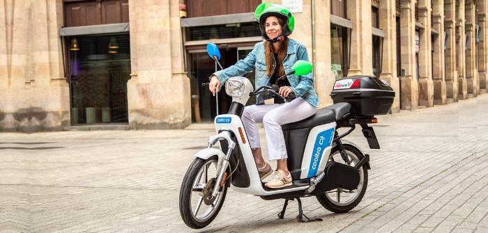 Cooltra location libre service scooters électriques