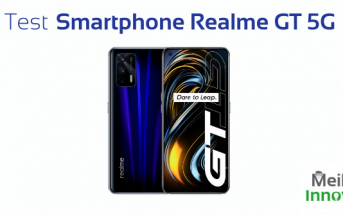 test smartphone 5G android Realme GT