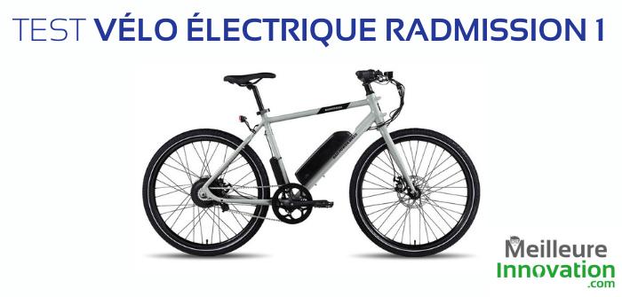 Test vélo électrique Radmission 1