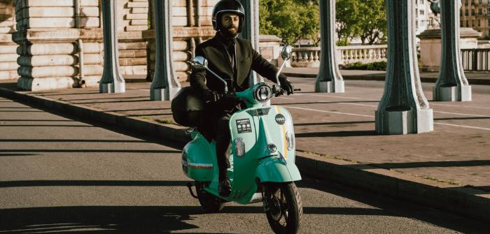 YEGO scooters électriques design rétro