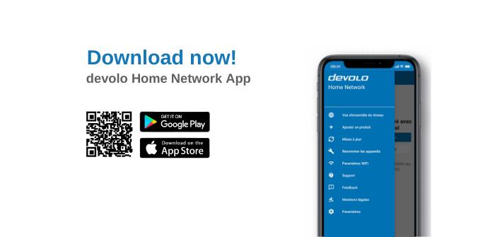 application devolo home network gestion réglages et paramètres des appareils