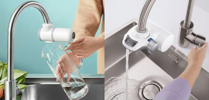Xiaomi Mijia vs Brita On Tap filtre à eau pour robinet