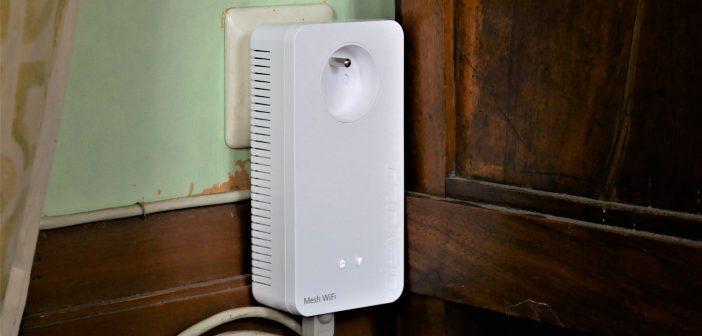 connexion réseau électrique fluide Mesh Wifi 2