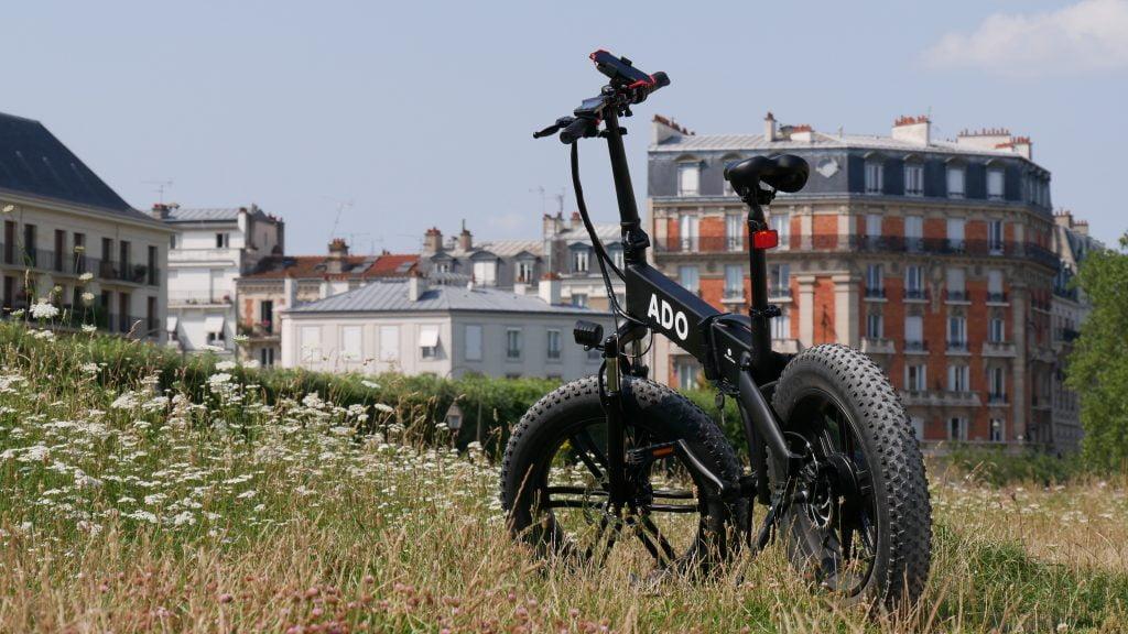 photo du vélo électrique ado a20f