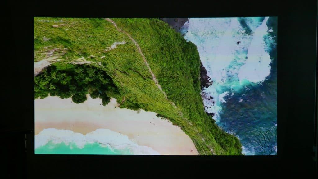 qualité vidéo Viewsonic M2e vidéoprojecteur