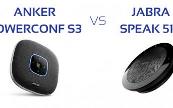 test haut-parleur conférence jabra versus Anker