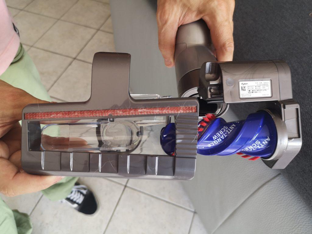 Rouleau canapé aspirateur balai sans fil V15