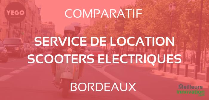 Comparatif des Meilleurs Services de Location de Scooter Électrique à Bordeaux