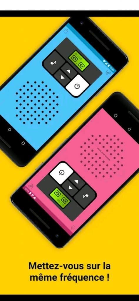 talkie walkie smartphone