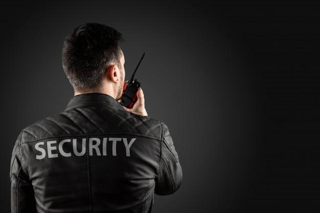 talkie walkie sécurité