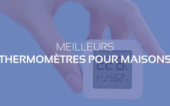 thermometre connecte maison habitat