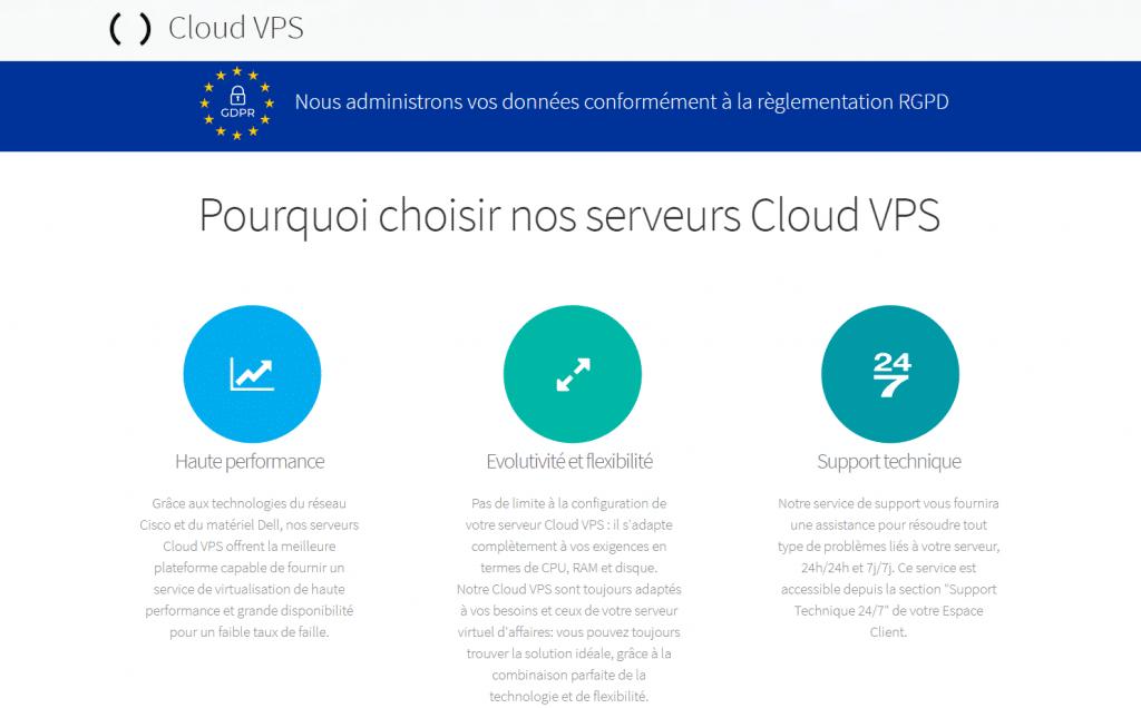 Cloud VPS Amen