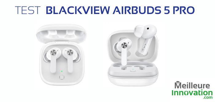 Test Blackview Airbuds 5 pro : les écouteurs TWS avec réduction de bruit