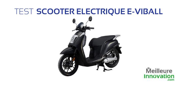 Test Nipponia E-Viball : un scooter électrique 125 aux caractéristiques séduisantes