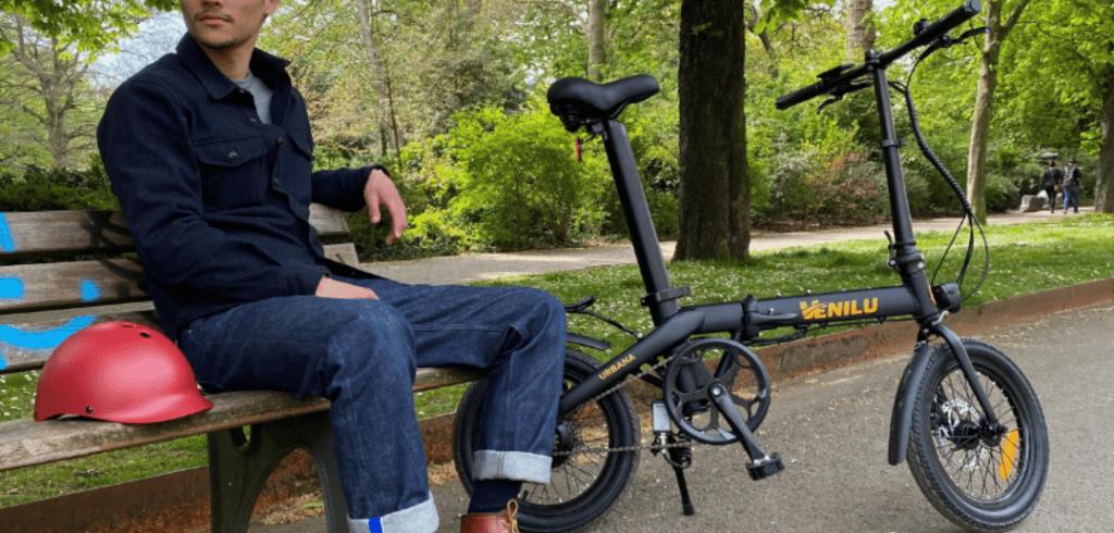 Vélo électrique pliable venilu urbana one