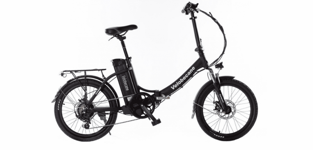 vélo électrique pliable velobecane compact