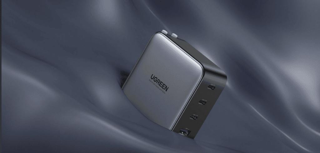 Présentation du chargeur rapide Ugreen 100W 3C1A GaN Fast Charger