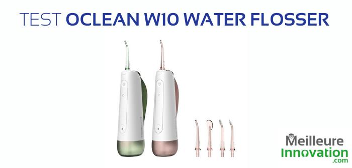 Test Oclean Portable Oral Irrigator : un outil pour l'hygiène dentaire
