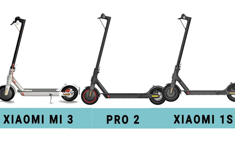 Trottinettes électriques Xiaomi Mi 3 / 1S / Pro 2