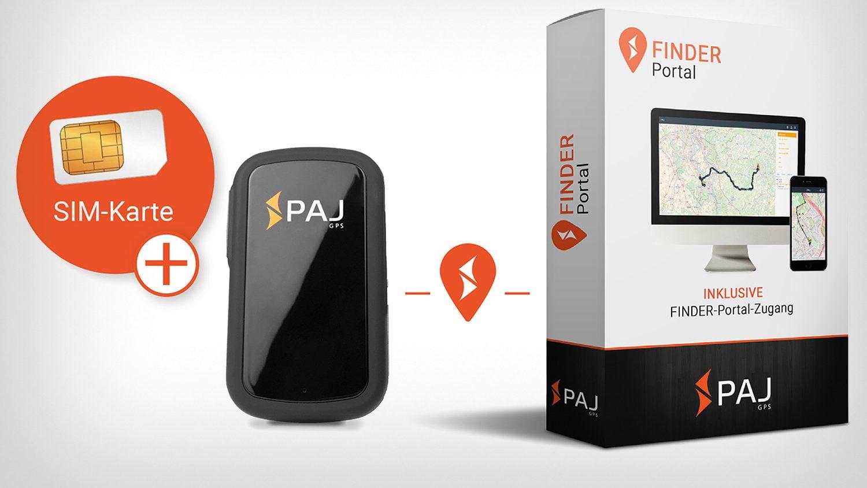 PAJ GPS allemand traceur couverture 43 pays