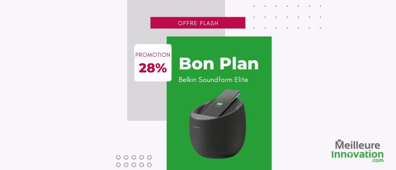 bon plan enceinte Belkin Soundform Elite