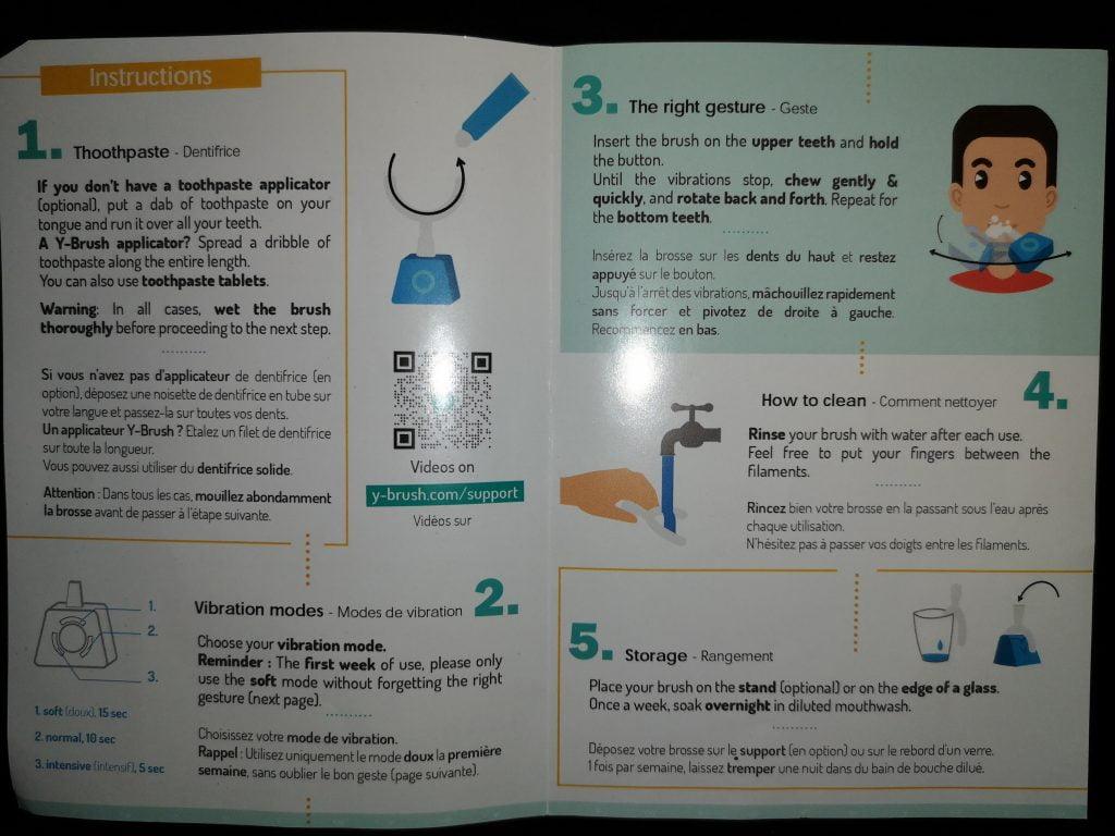 Guide d'utilisation Y-Brush
