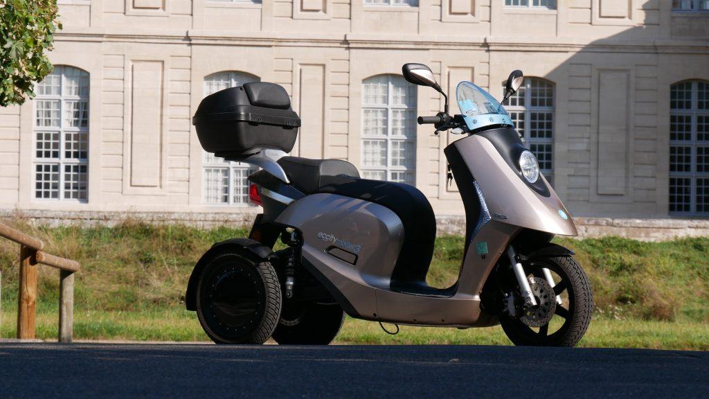 scooter électrique frein à disque