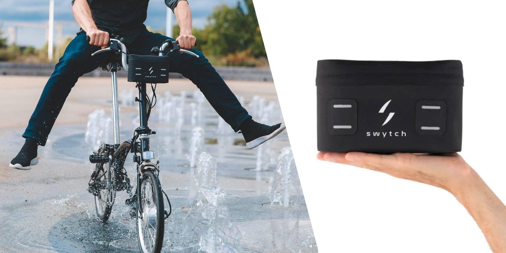 swytch kit pour roue électrique petit léger et performant