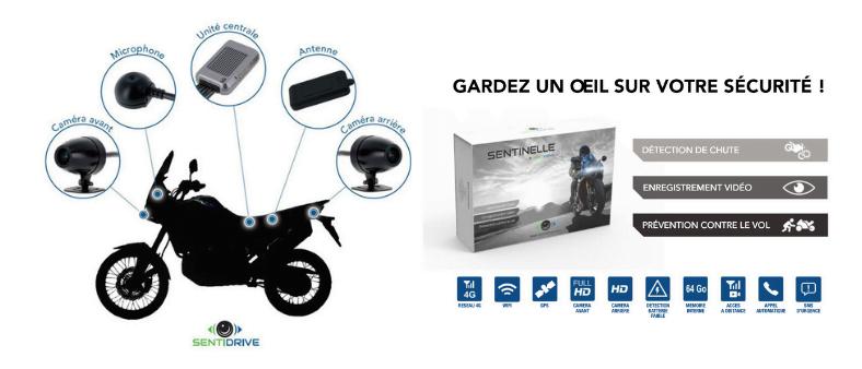 Sentinelle traceur gps avec caméras et micro