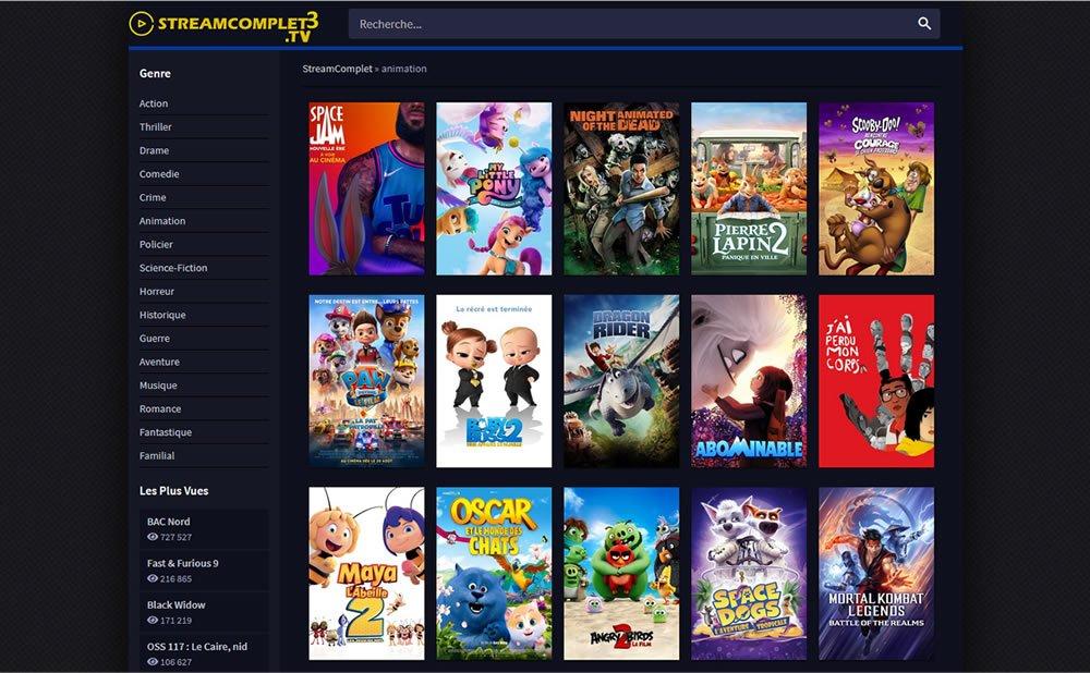 Légalité site streaming en ligne Streamcomplet