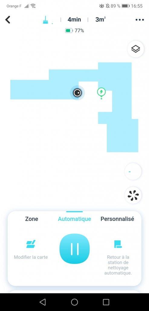 Yeedi Mop Station Test Cartographie
