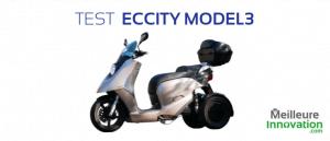 scooter électrique 3 roues Eccity Model3