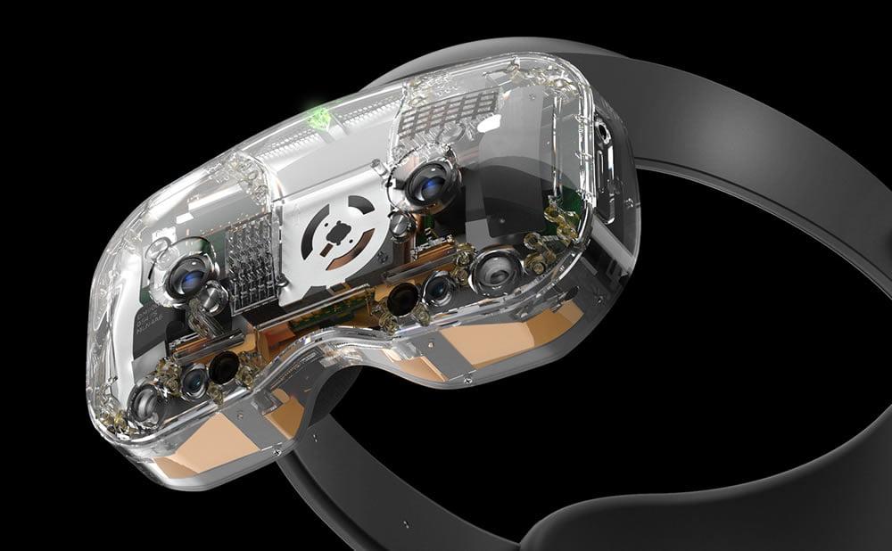 Lynx R-1 casque AR VR Kickstarter