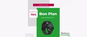 Bon plan Huawei Watch GT 2