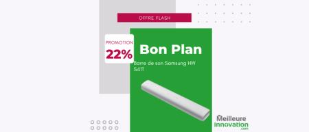 Bon plan Barre de son Samsung HW S41T