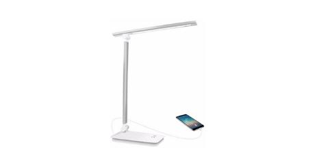 AUELEK Lampe de Bureau LED USB sans fil