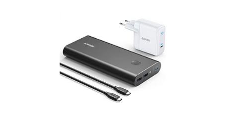 Anker PowerCore+ 26800 PD 45 W avec Adaptateur 60 W PD batterie portable