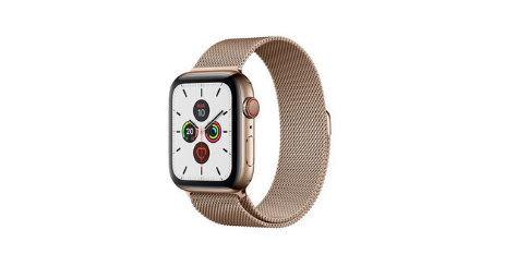 Apple Watch Series 5 meilleure montre connectee pour femmes