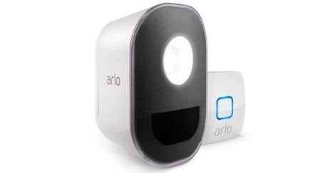 Arlo security light lampe connectee exterieur mouvement