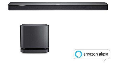 Bose 500 Barre de son enceinte tv intelligente Alexa Noir