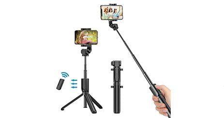Bovon Perche Selfie Bluetooth Trepied amazon
