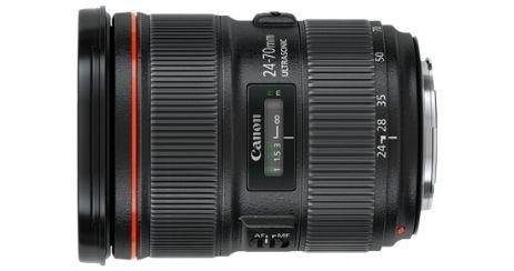 Canon EF 24 70mm meilleur objectif zoom Canon
